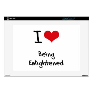 """I love Being Enlightened Decals For 15"""" Laptops"""