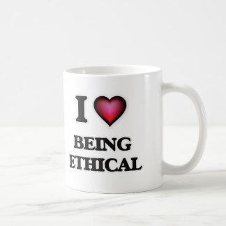 I love Being Ethical Coffee Mug