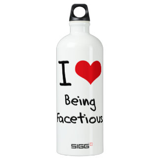 I Love Being Facetious SIGG Traveler 1.0L Water Bottle