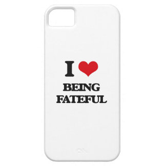 I Love Being Fateful iPhone 5 Covers