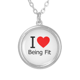 I Love Being Fit Necklace