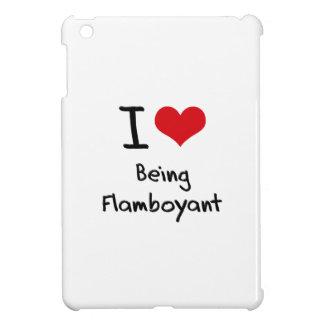 I Love Being Flamboyant iPad Mini Covers