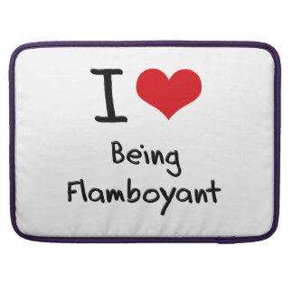 I Love Being Flamboyant MacBook Pro Sleeves