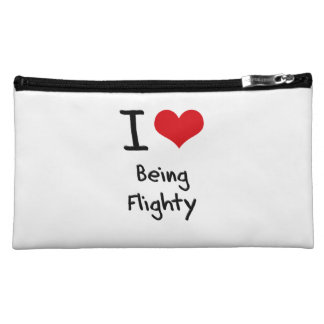 I Love Being Flighty Cosmetic Bag