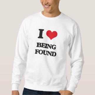 I Love Being Found Pullover Sweatshirt