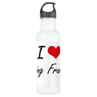 I Love Being Frumpy Artistic Design 24oz Water Bottle