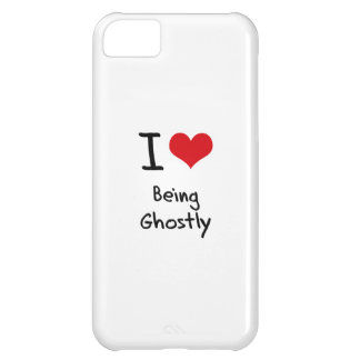 I Love Being Ghostly iPhone 5C Cover