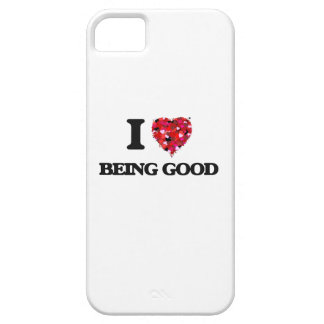I Love Being Good iPhone 5 Cover