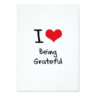 I Love Being Grateful Invite