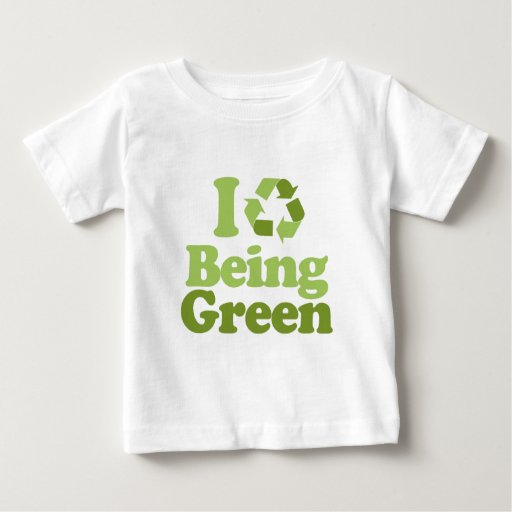 I Love Being Green T-shirts