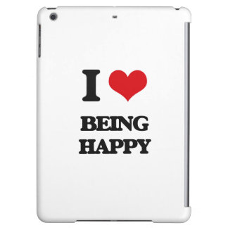 I Love Being Happy iPad Air Covers