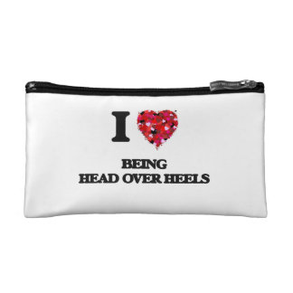 I love Being Head Over Heels Cosmetic Bag