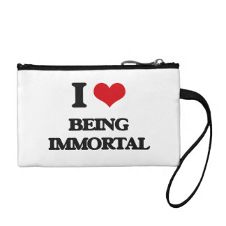 I Love Being Immortal Coin Wallet
