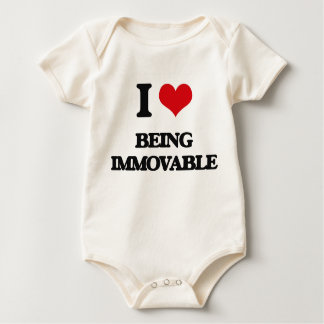 I Love Being Immovable Romper