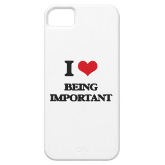 I Love Being Important iPhone 5 Case