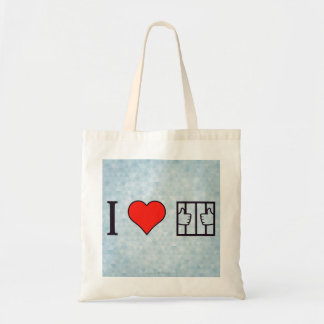 I Love Being In Jail Tote Bag