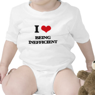 I Love Being Inefficient Bodysuits