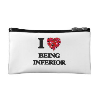I Love Being Inferior Cosmetic Bag