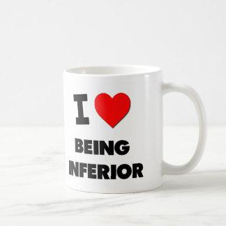 I Love Being Inferior Mugs
