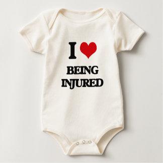 I Love Being Injured Bodysuit