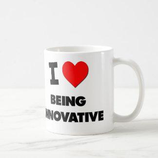 I Love Being Innovative Classic White Coffee Mug