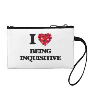I Love Being Inquisitive Coin Purse
