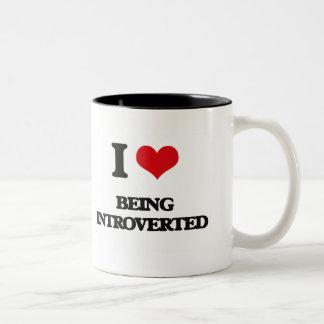 I Love Being Introverted Mug
