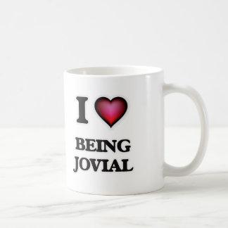 I Love Being Jovial Coffee Mug
