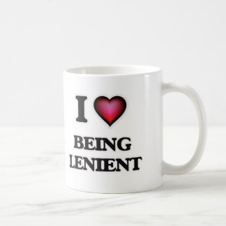 I Love Being Lenient Coffee Mug