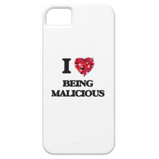 I Love Being Malicious iPhone 5 Cases