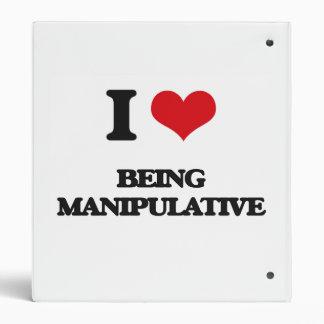 I Love Being Manipulative Binder