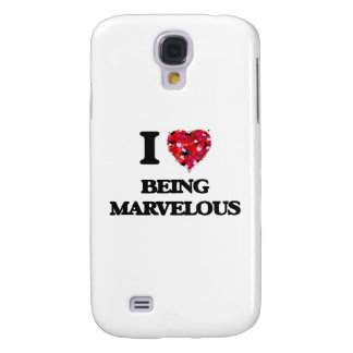 I Love Being Marvelous Galaxy S4 Cover