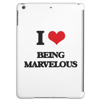 I Love Being Marvelous iPad Air Covers