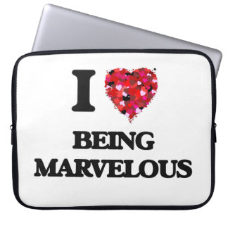 I Love Being Marvelous Computer Sleeves
