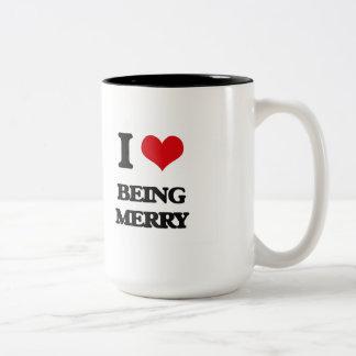 I Love Being Merry Mugs