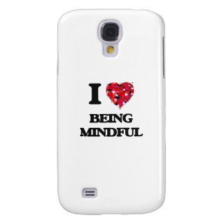 I Love Being Mindful Galaxy S4 Covers