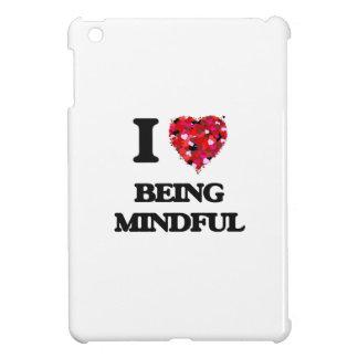 I Love Being Mindful iPad Mini Cases