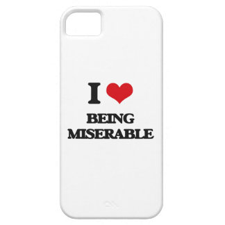 I Love Being Miserable iPhone 5 Cover