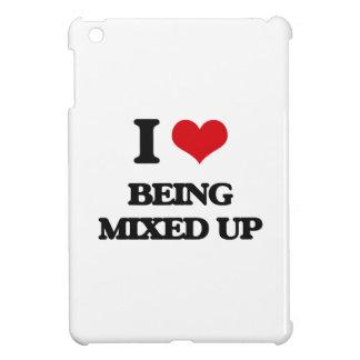 I Love Being Mixed Up iPad Mini Case