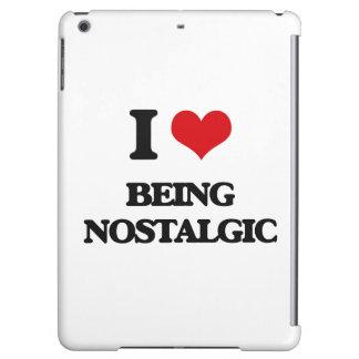 I Love Being Nostalgic iPad Air Cases