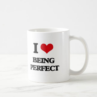 I Love Being Perfect Mug