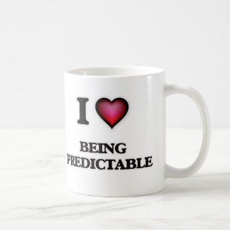 I Love Being Predictable Coffee Mug
