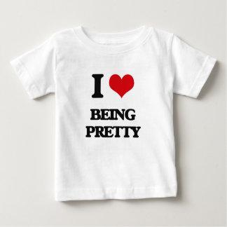 I Love Being Pretty T-shirt
