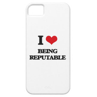 I Love Being Reputable iPhone 5 Covers