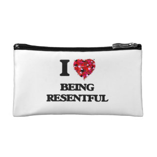 I Love Being Resentful Cosmetic Bags