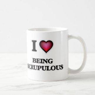 I Love Being Scrupulous Coffee Mug