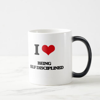 I Love Being Self-Disciplined Mug