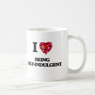 I Love Being Self-Indulgent Classic White Coffee Mug