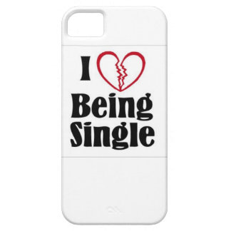 I Love Being Single iPhone SE/5/5s Case