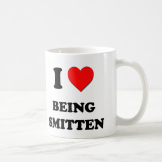 I love Being Smitten Coffee Mugs